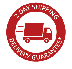 2 Day Shipping Guarantee
