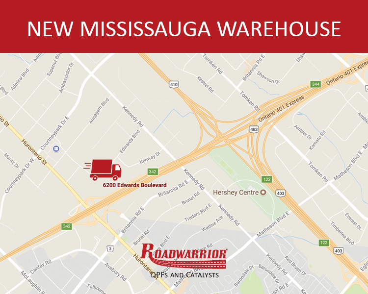 New Mississauga Warehouse